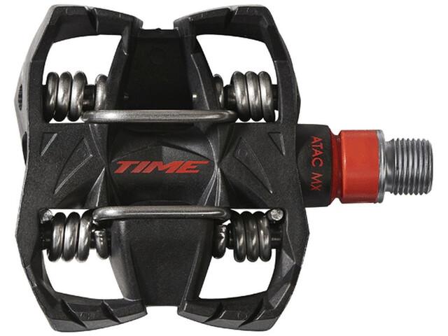 Time ATAC MX8 Pedalen zwart